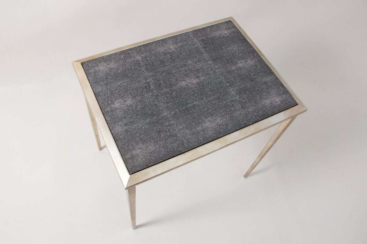 Clare Shagreen Side Table 2