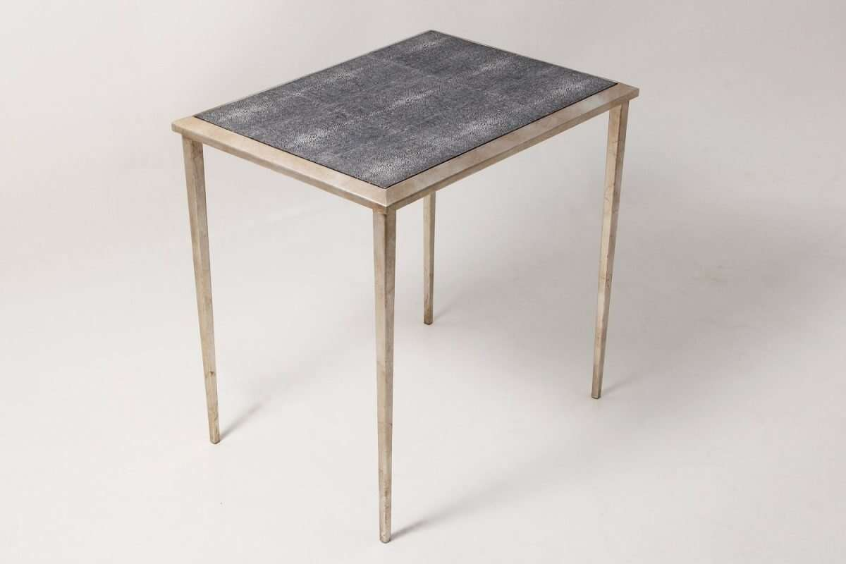 Clare Shagreen Side Table 1