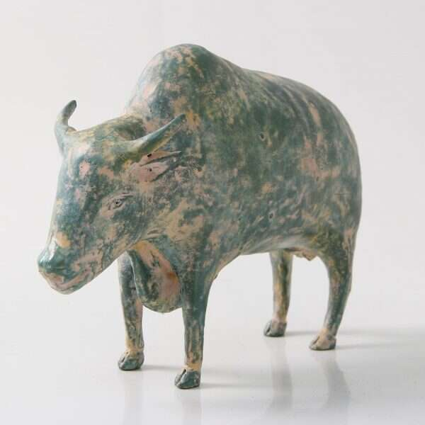 Water Buffalo Sculpture by Forwood Design 5