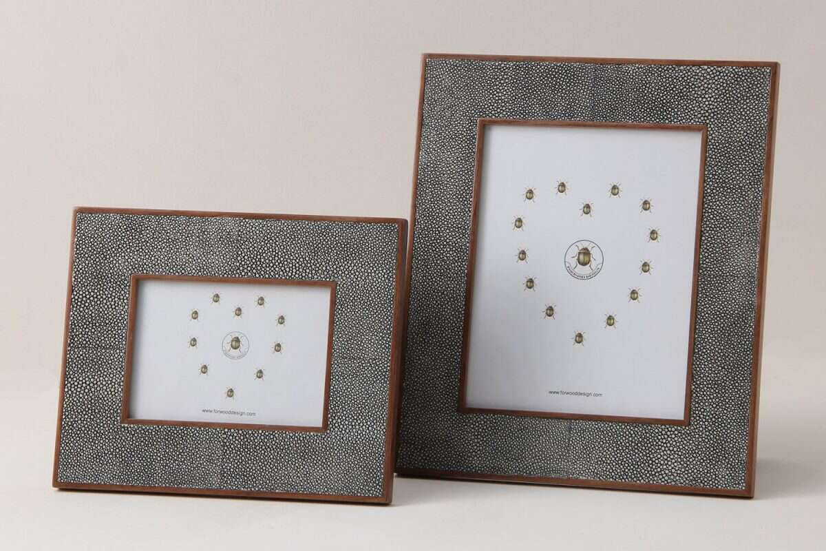 Classic Photo Frames in Charcoal Grey 5