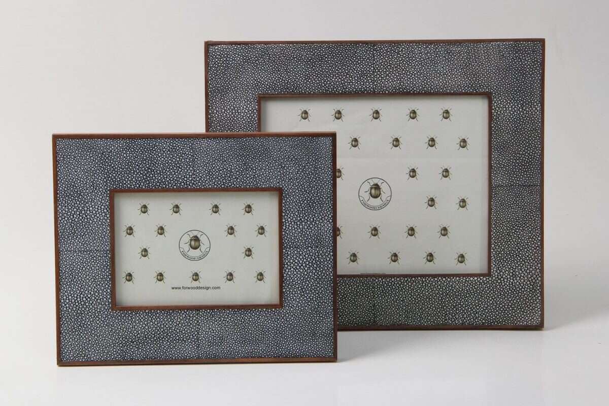 Classic Photo Frames in Charcoal Grey 3