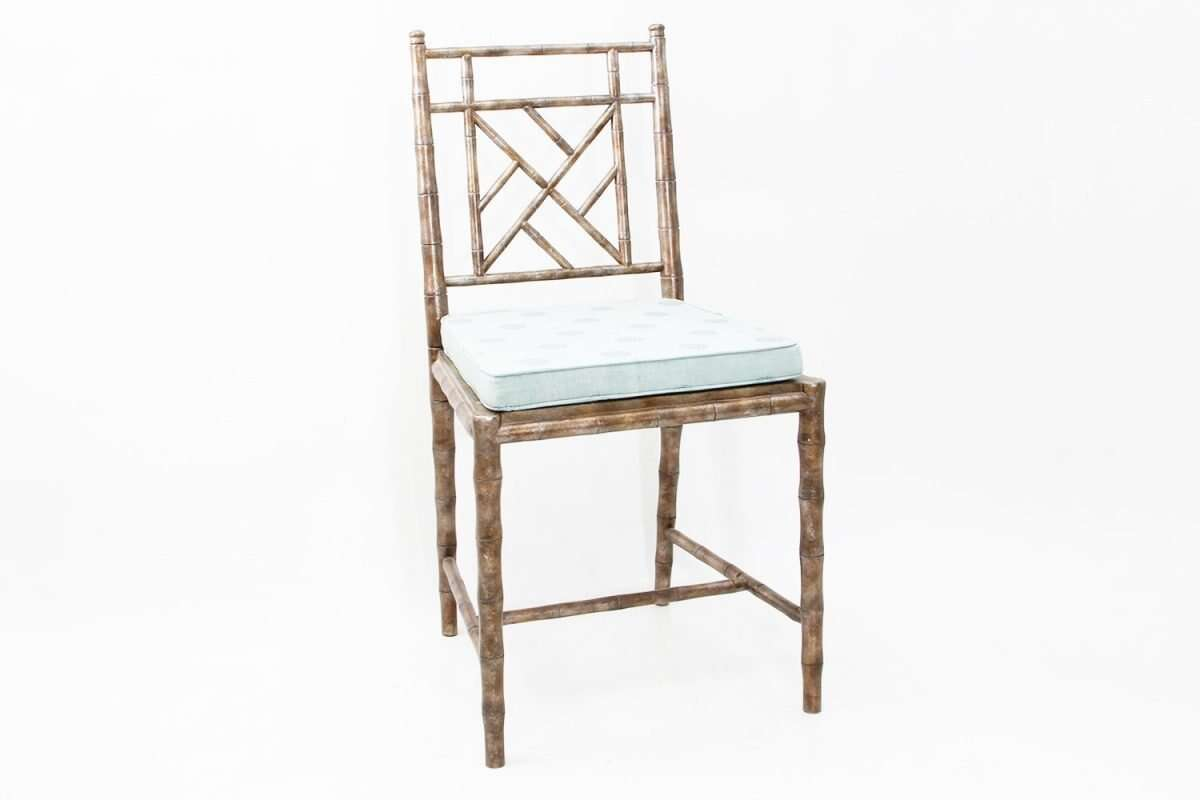 Cora Dinning Chair in Antique Silver by Forwood Design 5