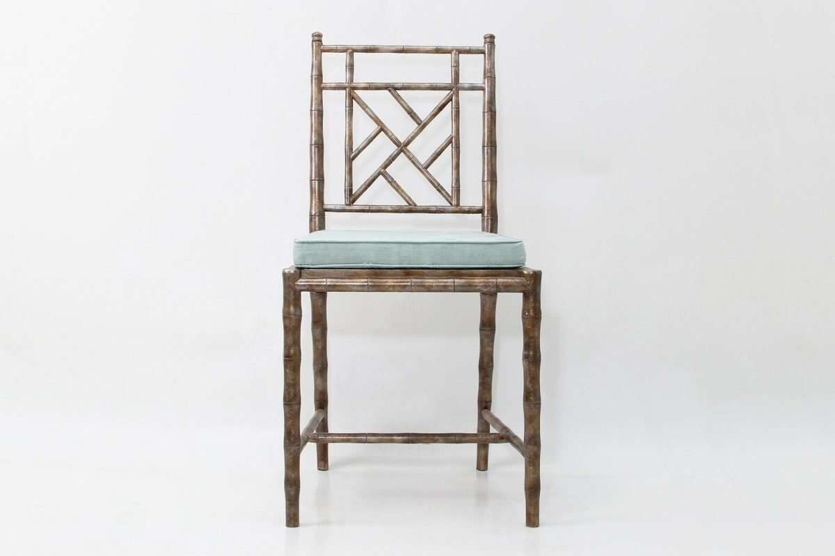 Cora Dinning Chair in Antique Silver by Forwood Design 4