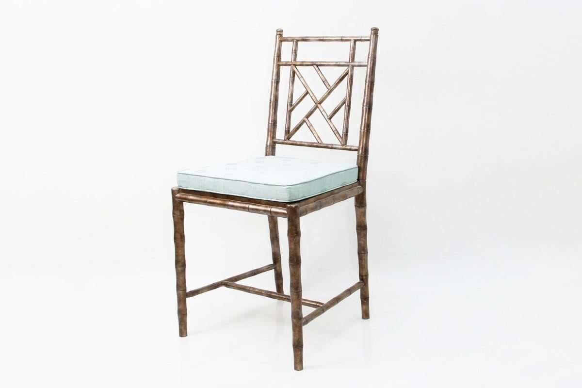 Cora Dinning Chair in Antique Silver by Forwood Design 1