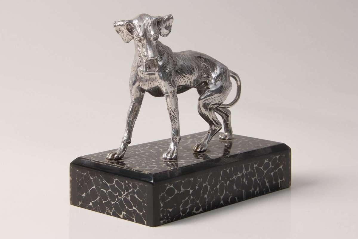 Dog Sculpture for Forwood Design 4
