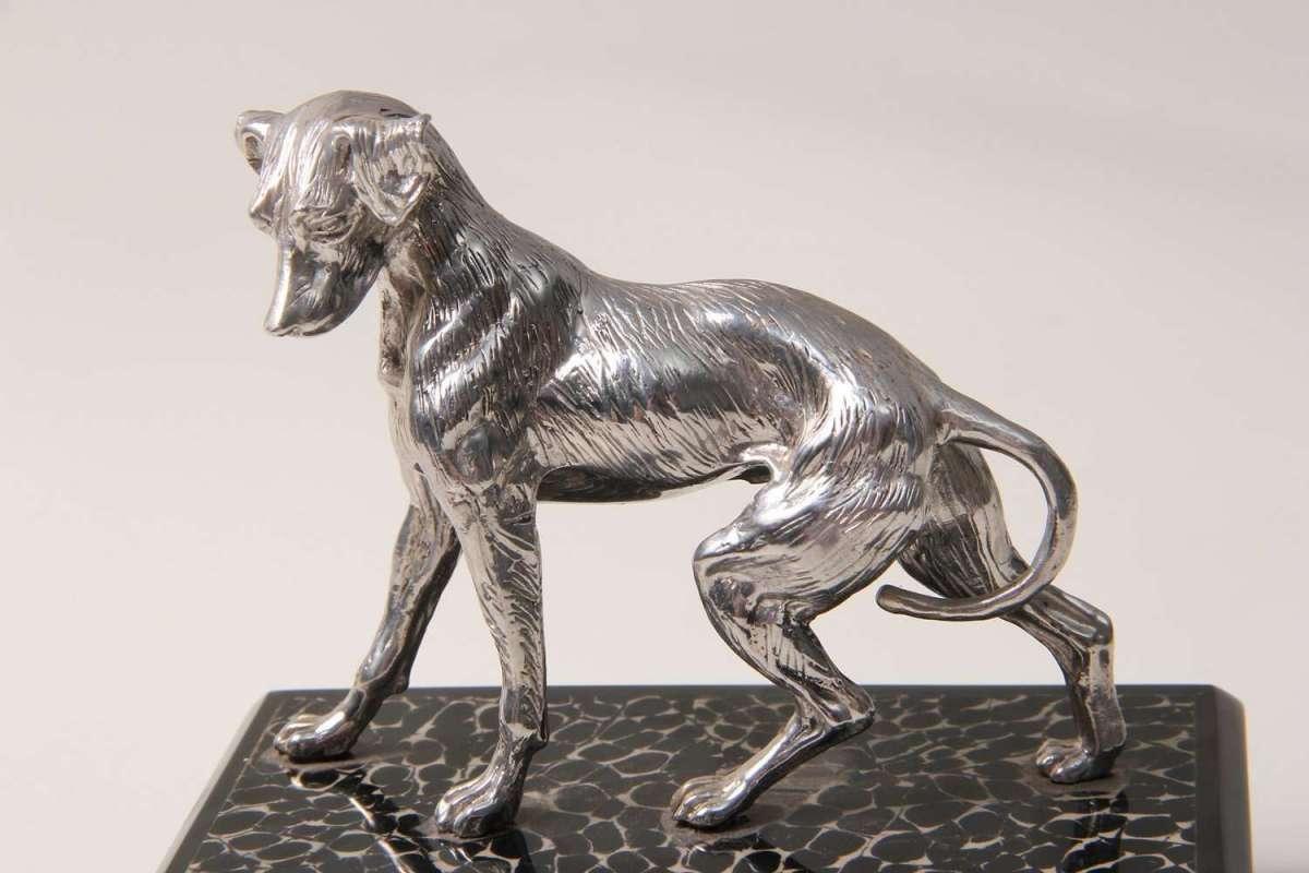 Dog Sculpture for Forwood Design 3