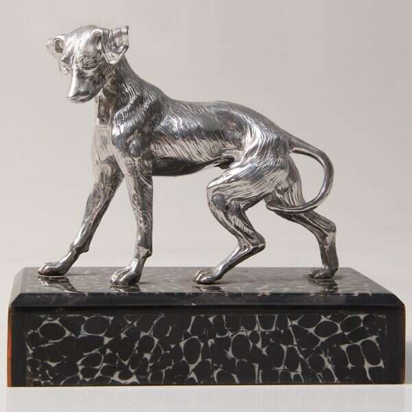 Dog Sculpture for Forwood Design 2