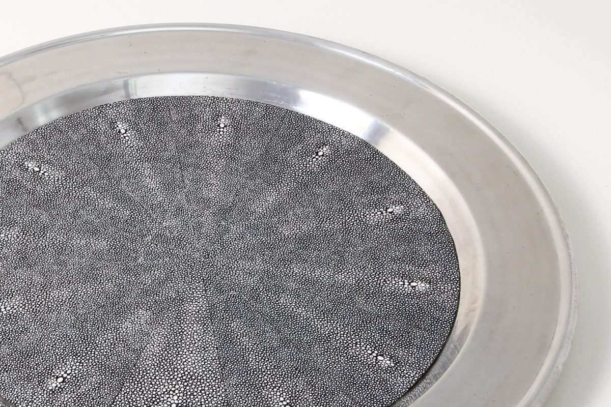 Duchess Serving Tray in Charcoal 5