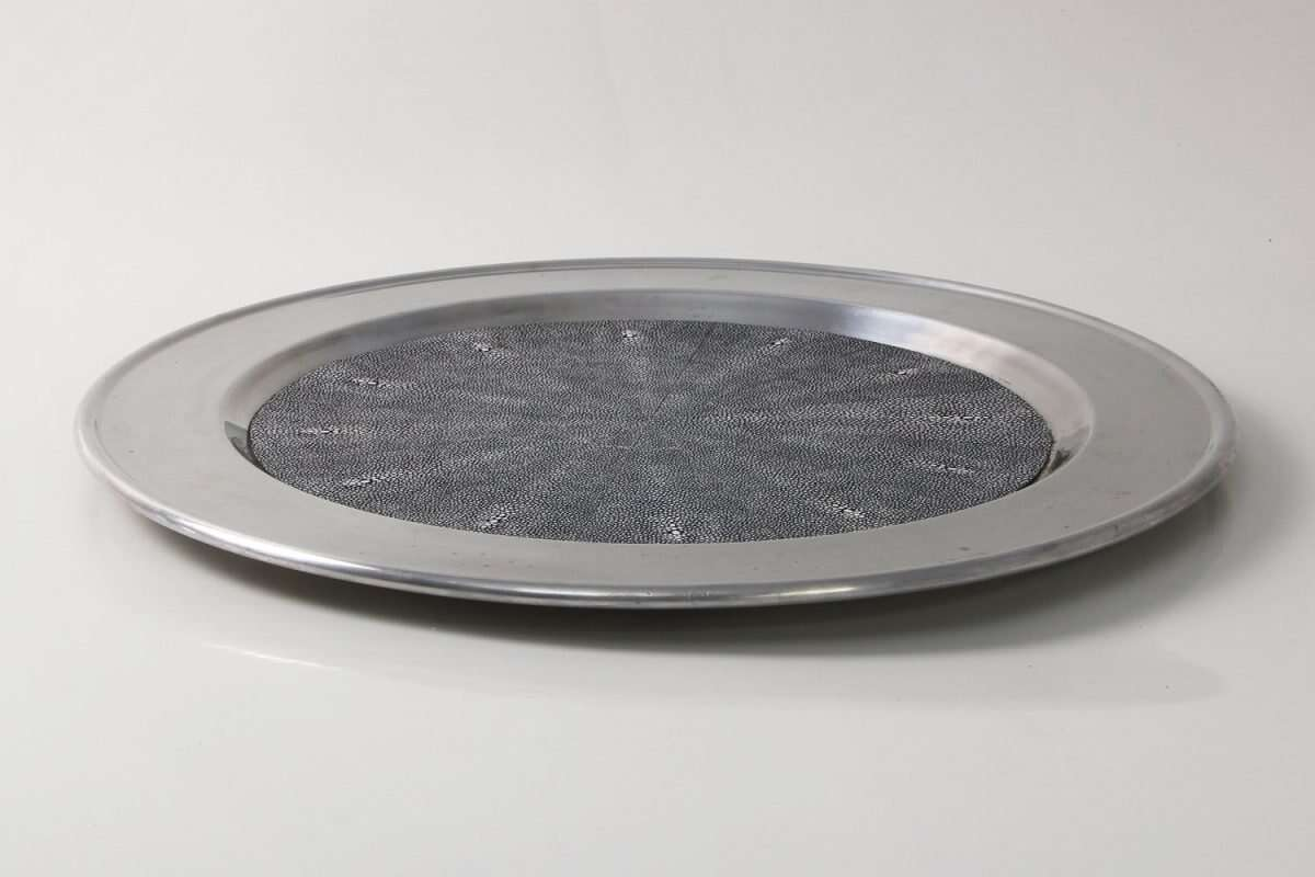 Duchess Serving Tray in Charcoal 4