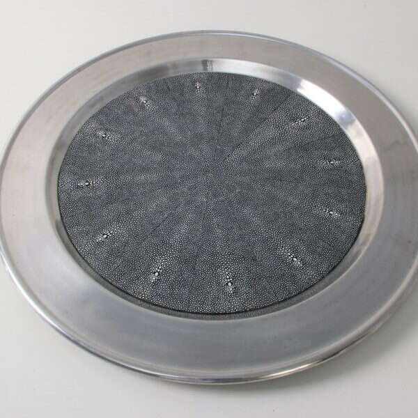 Duchess Serving Tray in Charcoal 1