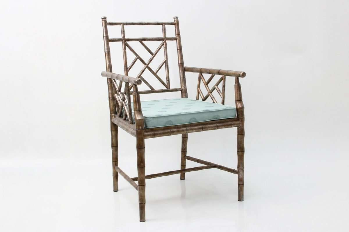 Cora Dining Chair in antique silver 6