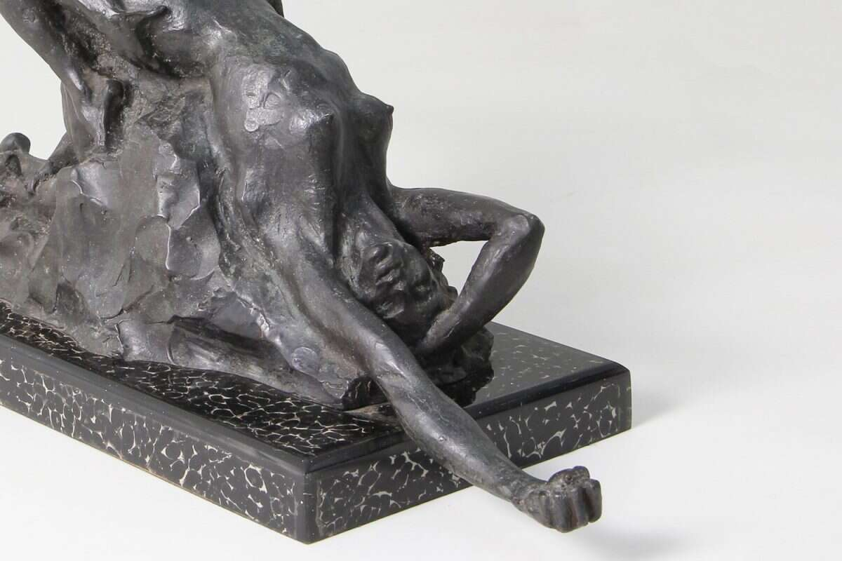 'Ecstasy' an Erotic Bronze Sculpture by Forwood Design 3