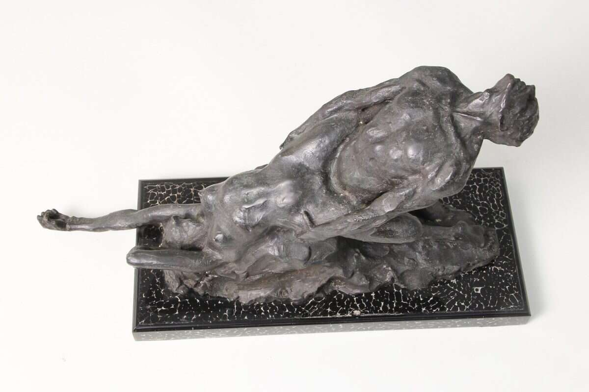 'Ecstasy' an Erotic Bronze Sculpture by Forwood Design 1