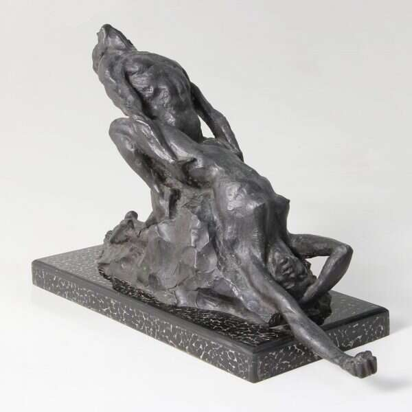 'Ecstasy' an Erotic Bronze Sculpture by Forwood Design 2