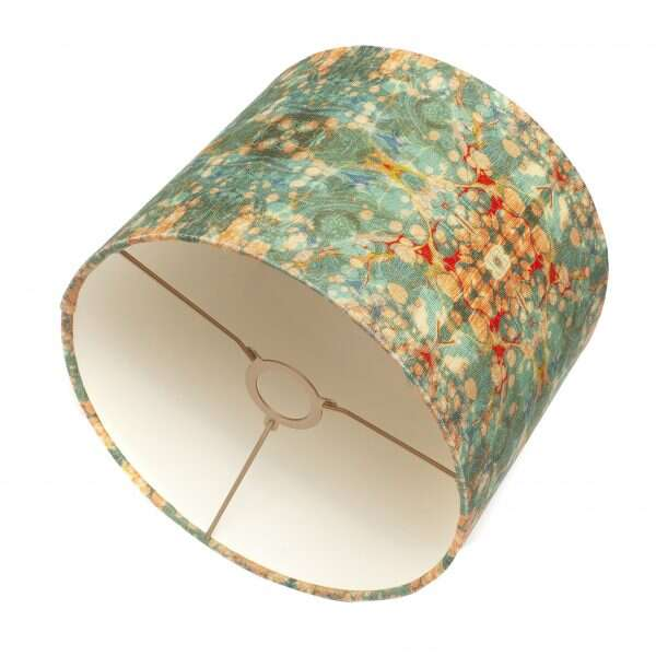 Fantasy Tapestry Kaleidoscope Linen Lampshades by Susi Bellamy for Forwood Design 2