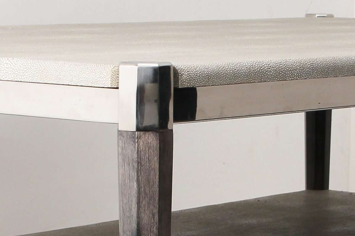 Fitz Coffee Table in Barley Shagreen by Forwood Design 3