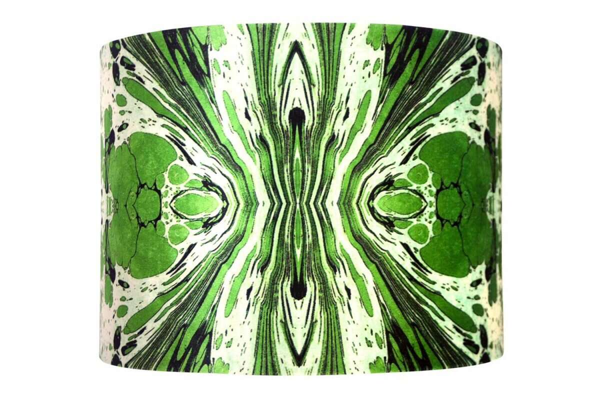Green Fantasy Velvet Lampshades by Susi Bellamy for Forwood Design 4