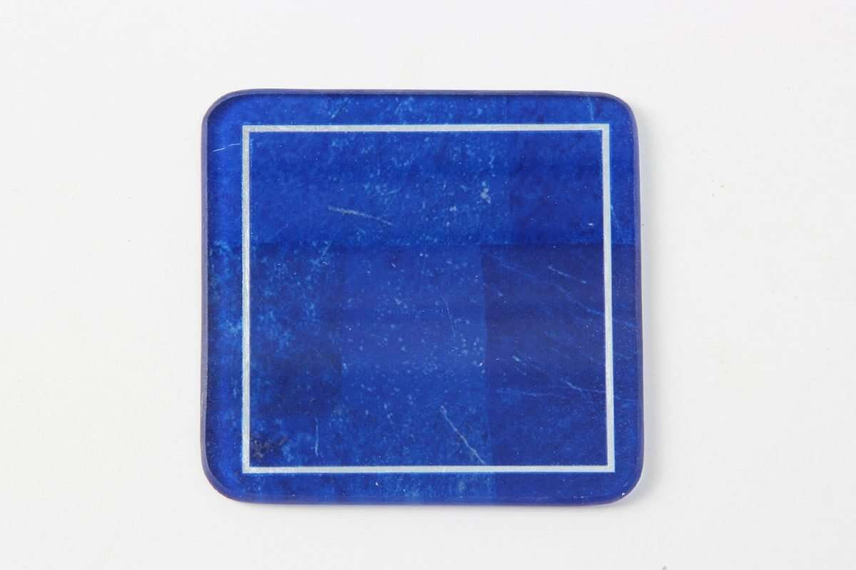 Lapis Lazuli Drinks Coasters by Forwood Design 5