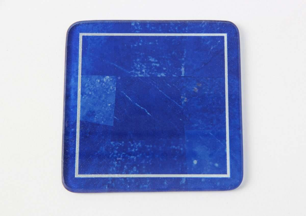 Lapis Lazuli Drinks Coasters by Forwood Design 1