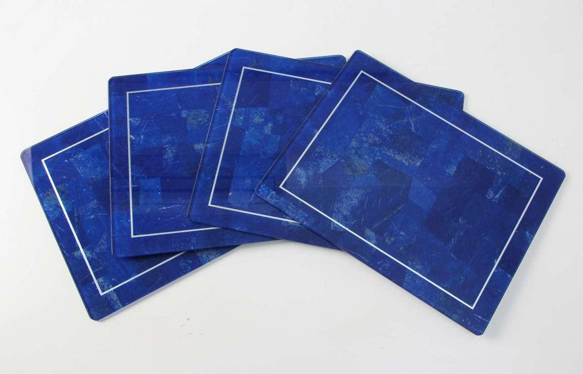 Lapis Lazuli Place mats - Set of 4 by Forwood Design 4