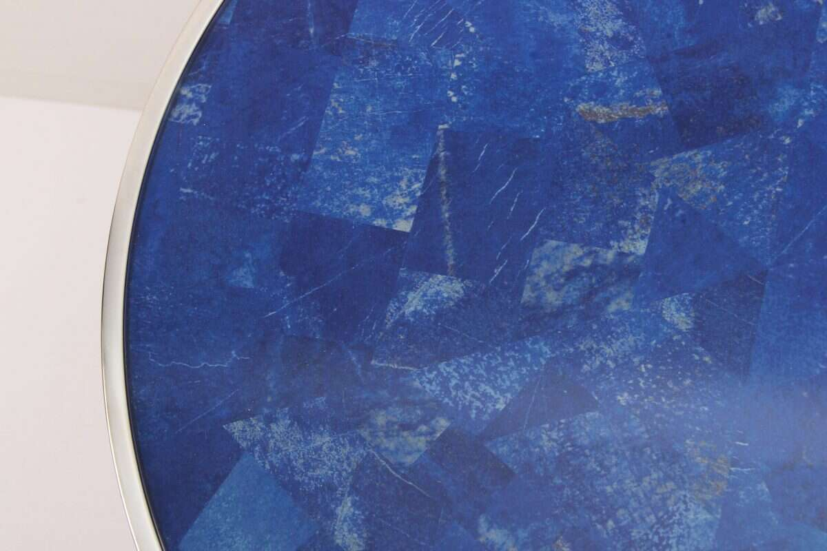 Lapis Lazuli Side Table by Forwood Design 6