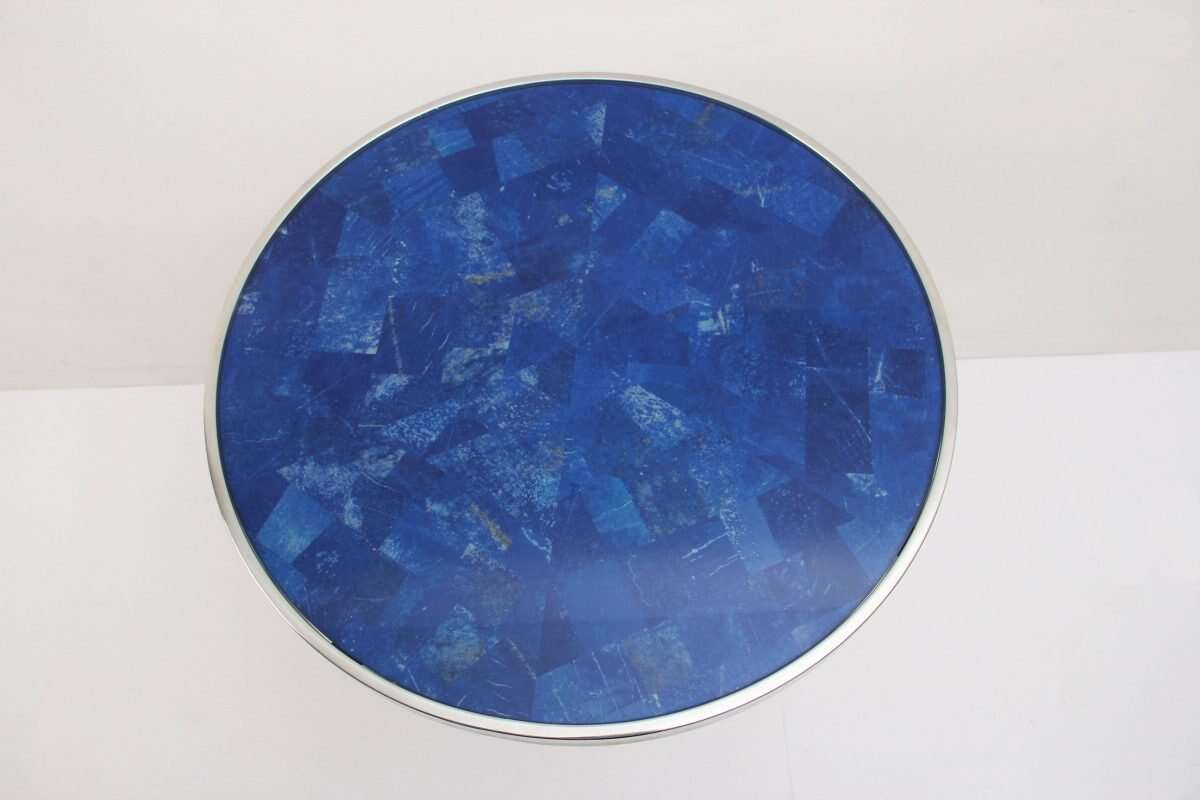 Lapis Lazuli Side Table by Forwood Design 5