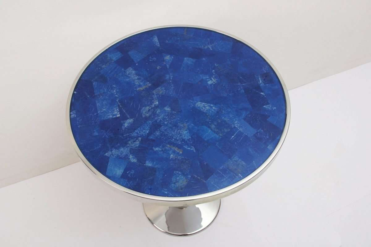 Lapis Lazuli Side Table by Forwood Design 4