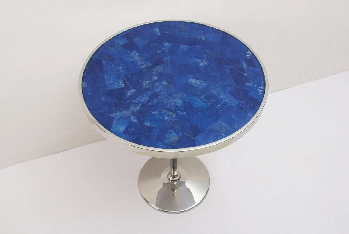 Lapis Lazuli Side Table by Forwood Design 3
