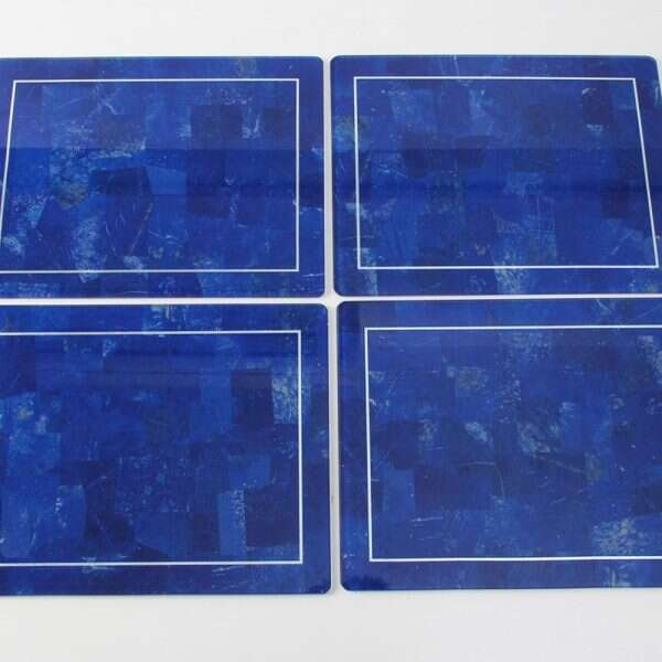 Lapis Lazuli Place mats - Set of 4 by Forwood Design 1