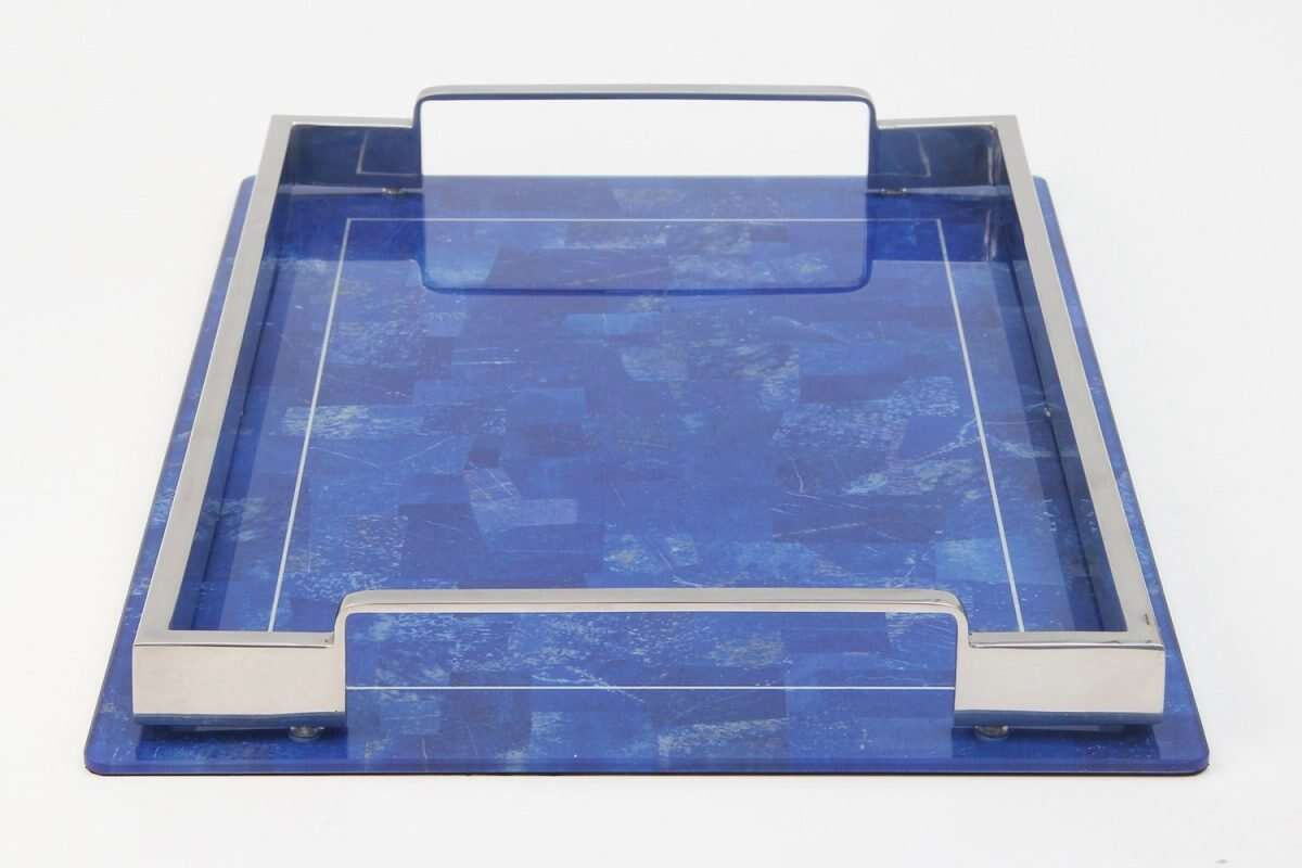 Lapis Lazuli Drinks Tray by Forwood Design 4