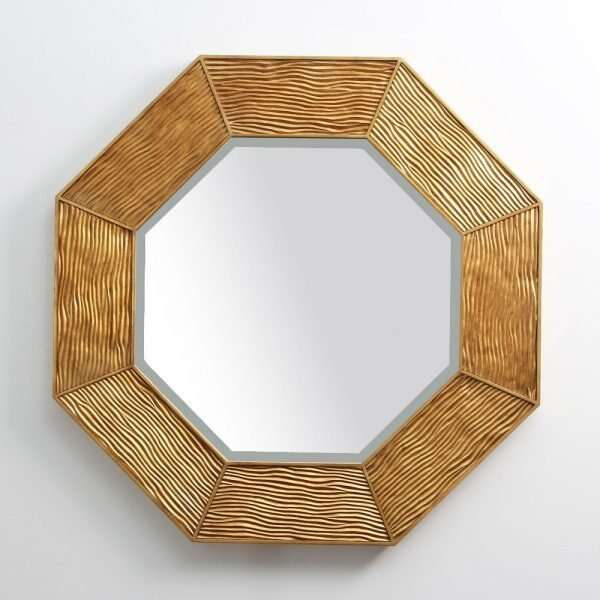 Lennox Wall Mirror in Antique Gold by Forwood Design 3
