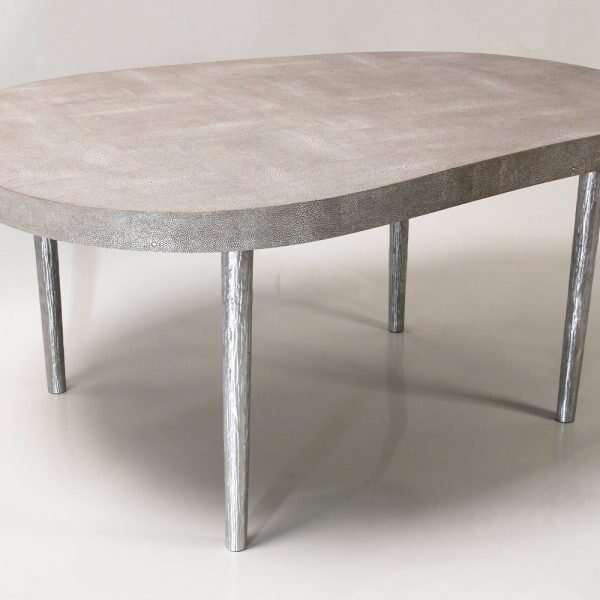 Mango coffee table in barley shagreen by Forwood Design 2