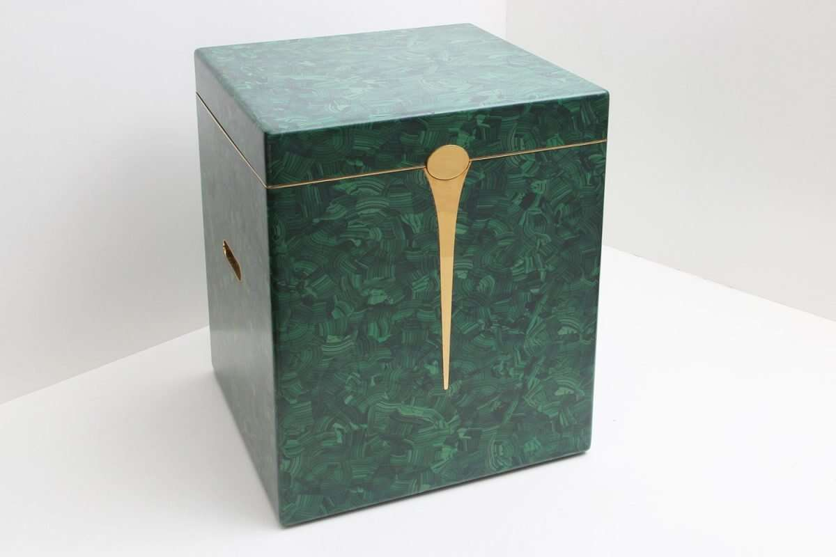 Malachite Drinks Chest / Side Table by Forwood Design 6
