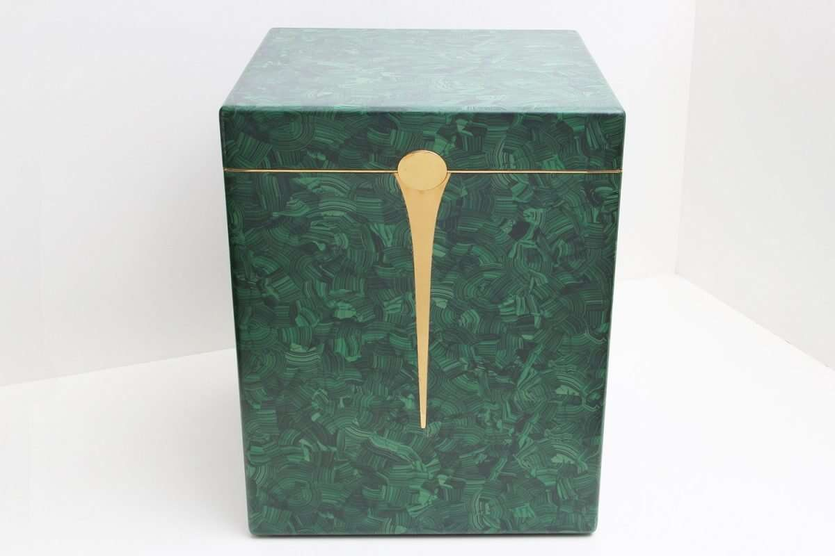 Malachite Drinks Chest / Side Table by Forwood Design 4