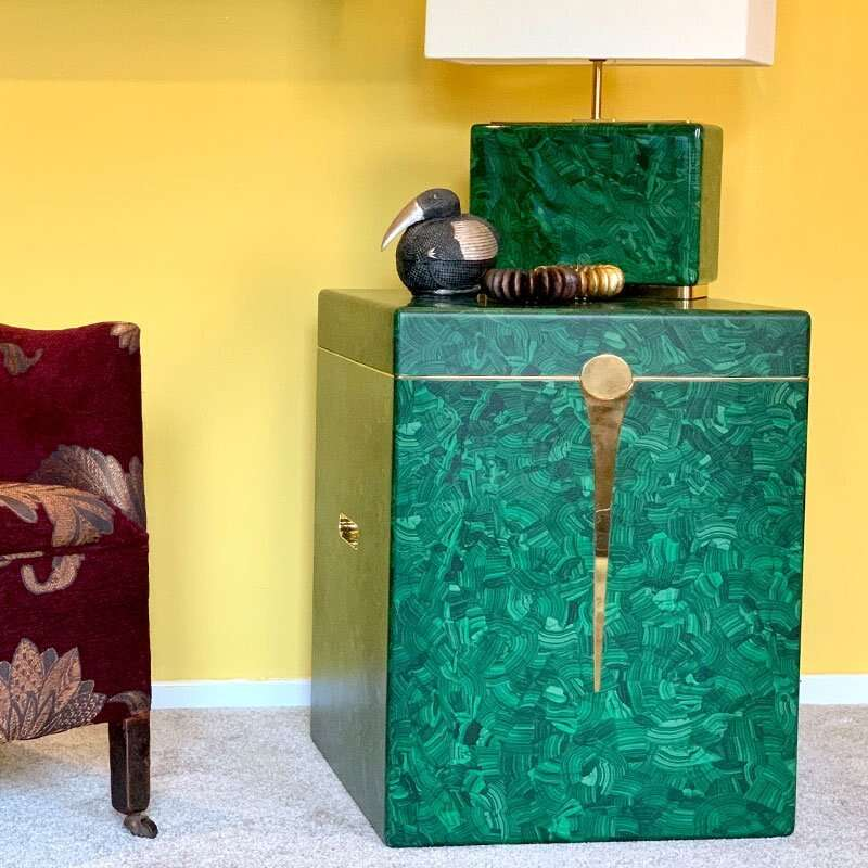 Malachite Drinks Chest / Side Table by Forwood Design 9