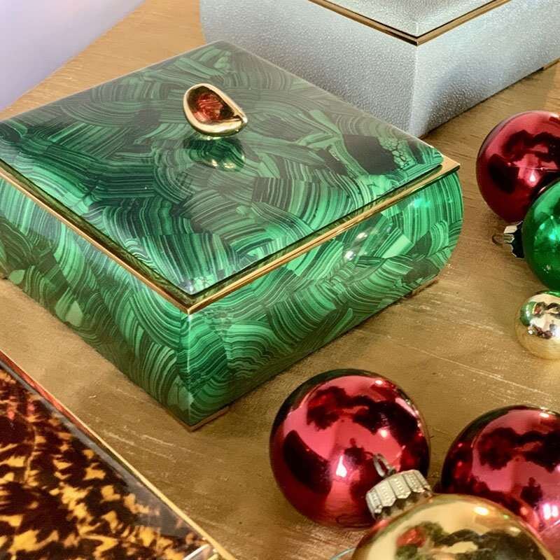 Sophie Box in Malachite