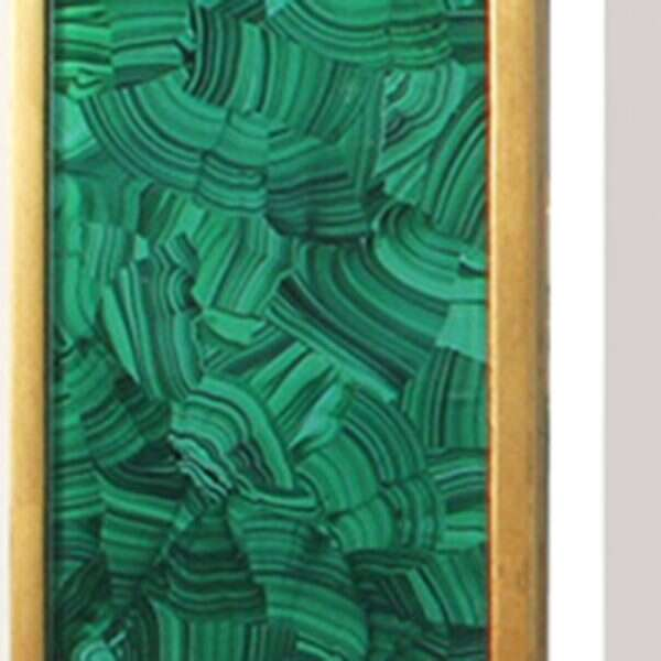 Alexandra Malachite Rectangular Mirror by Forwood Design 1