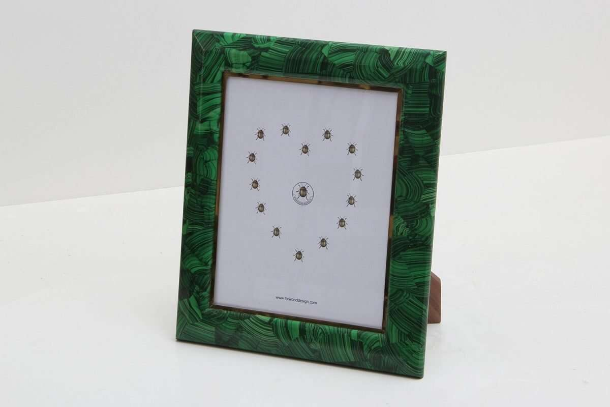 Malachite Photo Frames by Forwood Design 5