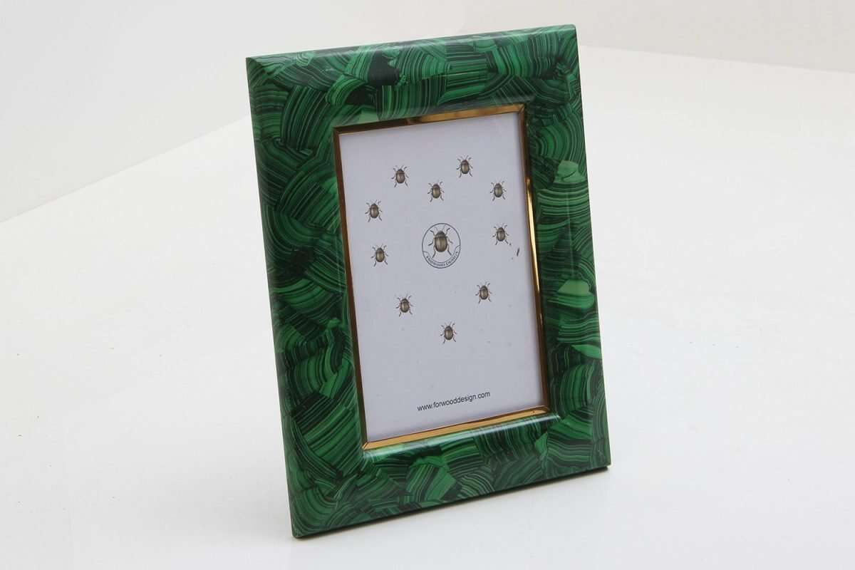 Malachite Photo Frames by Forwood Design 6