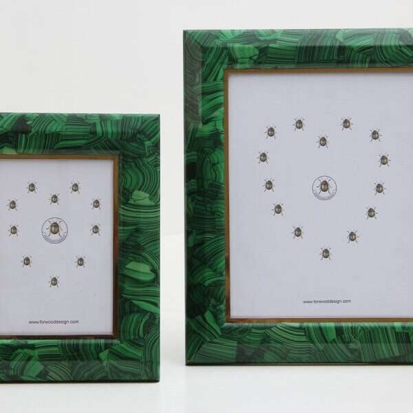 Malachite Photo Frames by Forwood Design 3