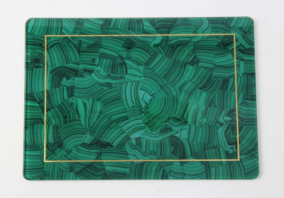 Malachite Place mats - Set of 4 by Forwood Design 4