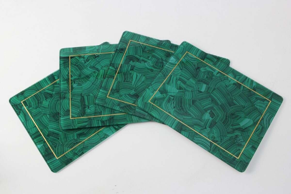 Malachite Place mats - Set of 4 by Forwood Design 1