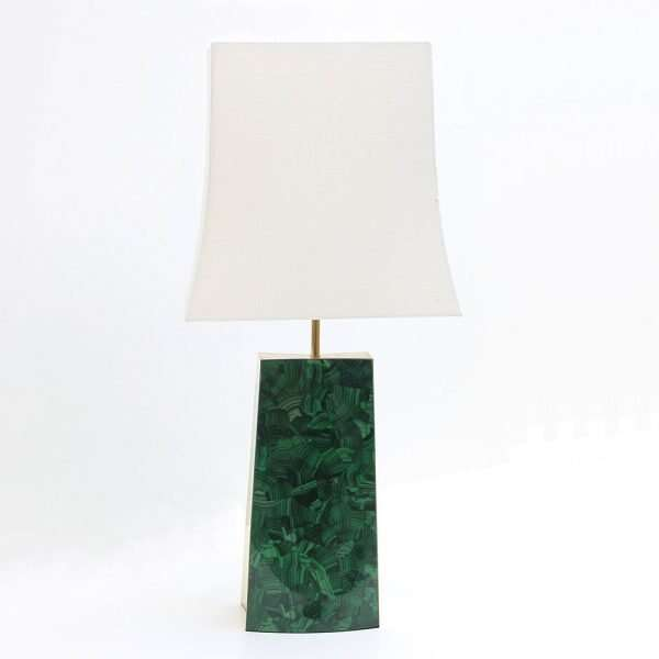 Gabby Malachite Table Lamp by Forwood Design 6