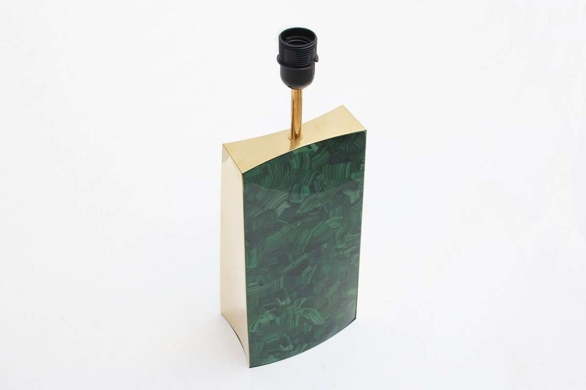 Gabby Malachite Table Lamp by Forwood Design 5