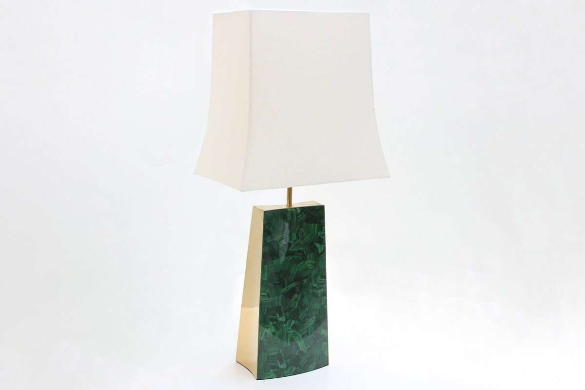 Gabby Malachite Table Lamp by Forwood Design 3