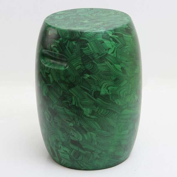 Malachite Stool / Drinks Table by Forwood Design 4