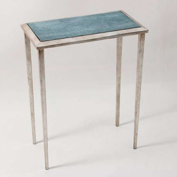 Ellie Shagreen Lamp Table by Forwood Design 5