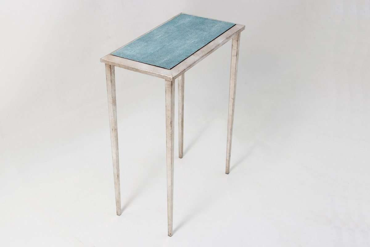 Ellie Shagreen Lamp Table by Forwood Design 3