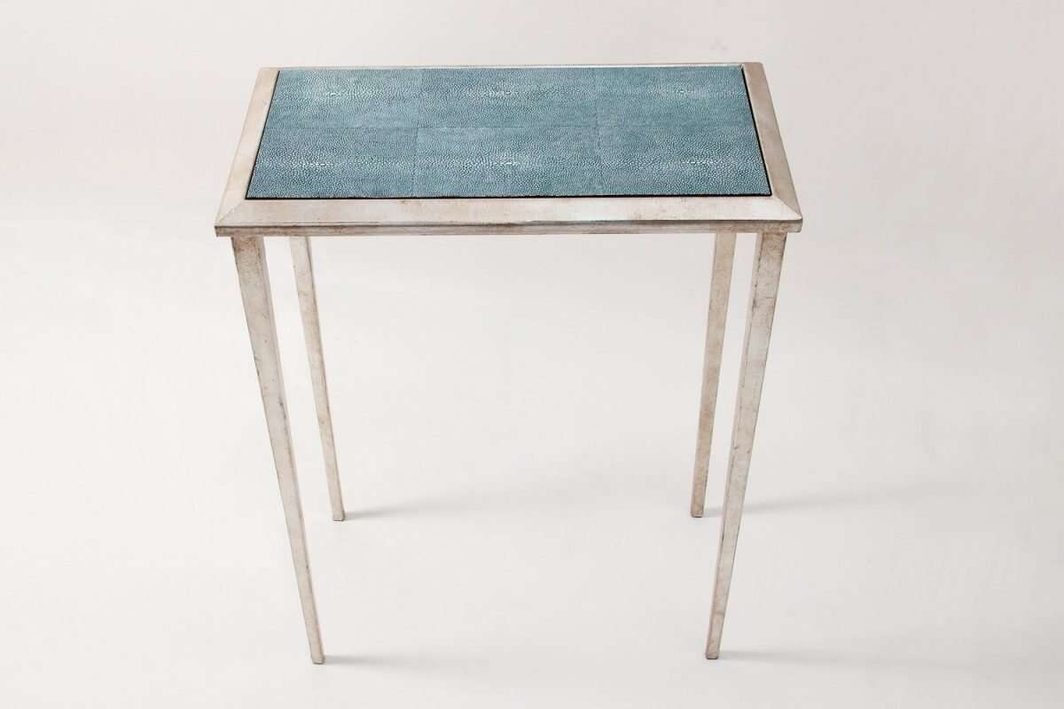 Ellie Shagreen Lamp Table by Forwood Design 2
