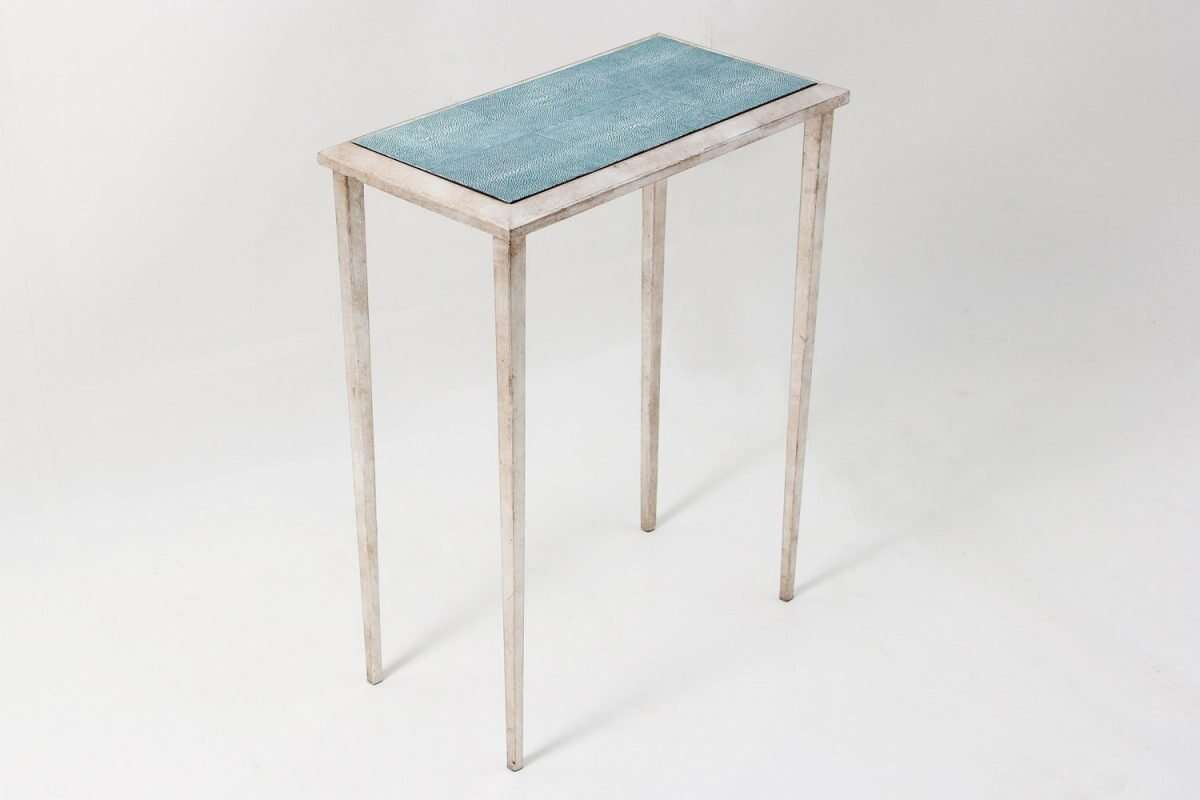 Ellie Shagreen Lamp Table by Forwood Design 1